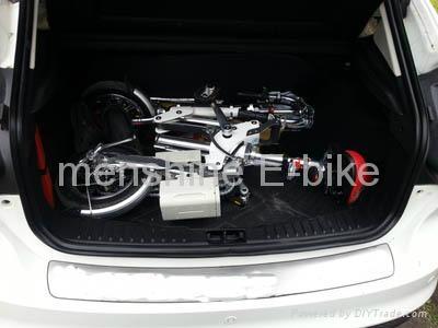 Menshine One Second  Folding &  Electric Bike 2