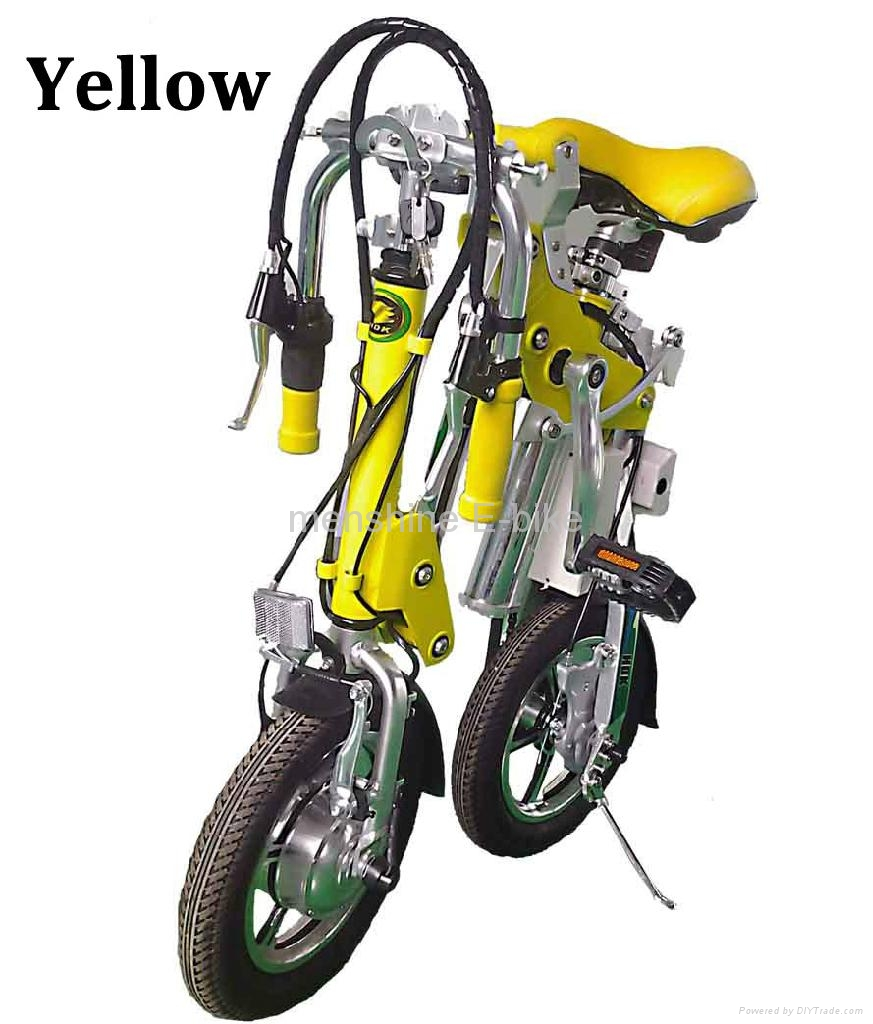 One Second Folding & Open Electric Bicycle  1