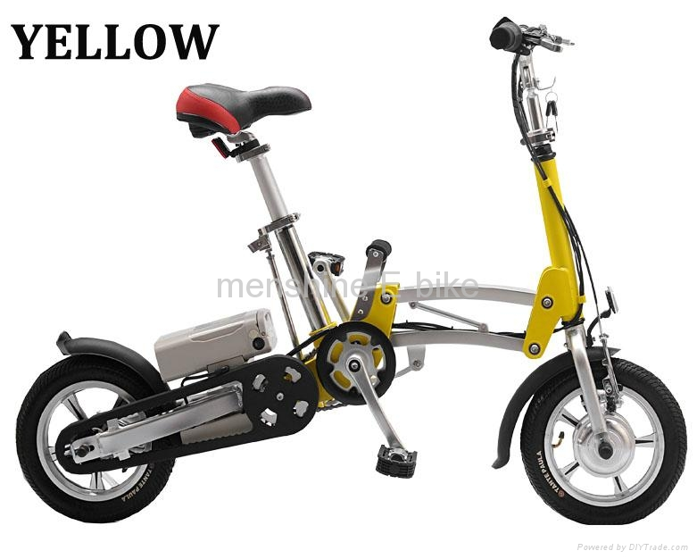 One Second Folding & Open Electric Bicycle  2