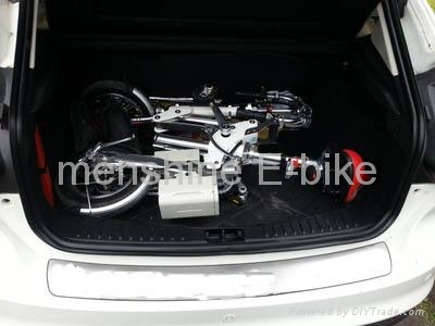 One Second Folding & Open Electric Bicycle  4