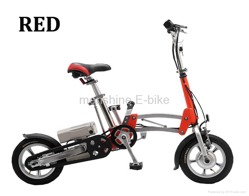 One Second Folding & Open Electric Bike  3