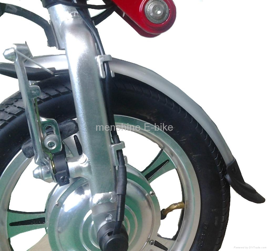 One Second Folding & Open Electric Bike  4