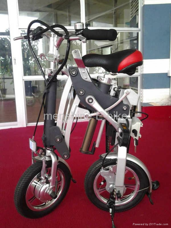 Menshine One Second Folding & Open Electric Bike 3