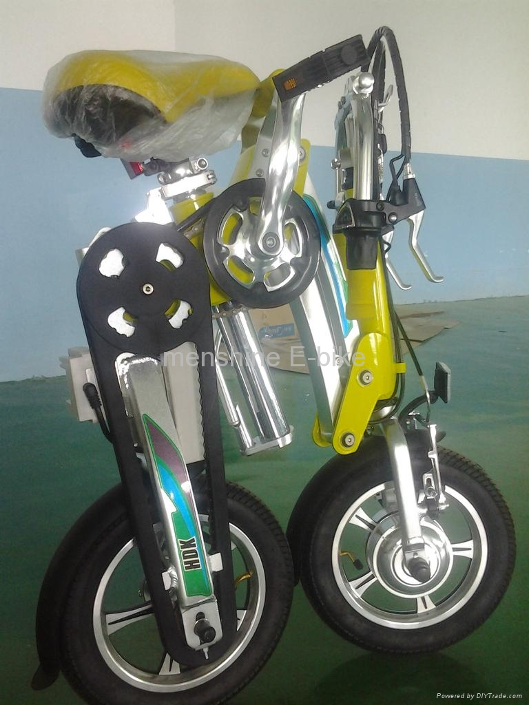 Menshine One Second Folding & Open Electric Bicycle  4