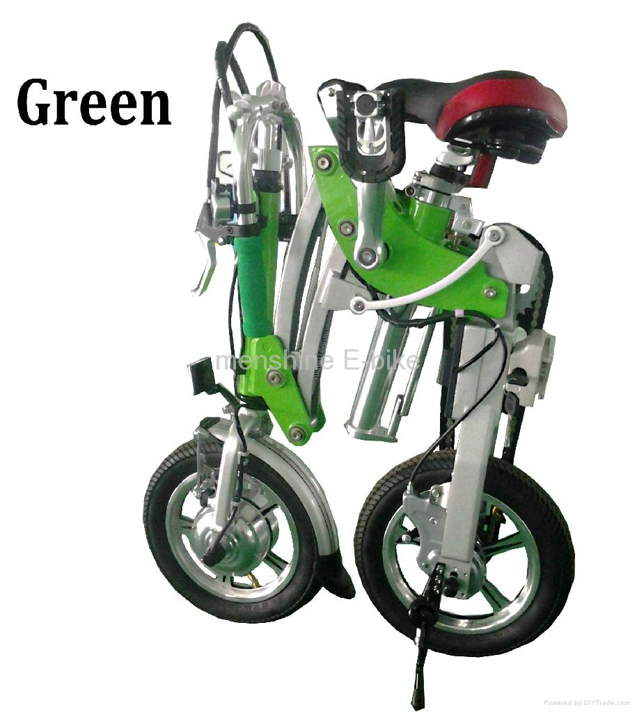 Menshine One Second Folding & Open Electric Bike 1