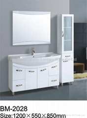 Beautiful White Bathroom Cabinet