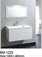 White Single Bathroom Cabinet