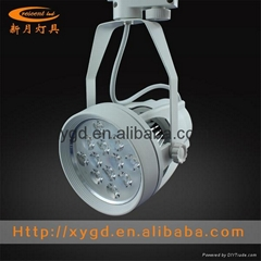 High power brightness 12W LED global track spotlights factory direct outlet