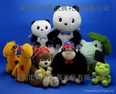 熊猫绒毛玩具