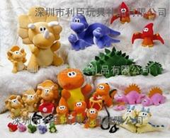 恐龙玩具公仔