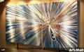 金屬家居裝飾畫147*62cm 4