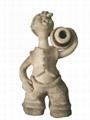 粘土陶瓷雕塑特色人物造型節日禮