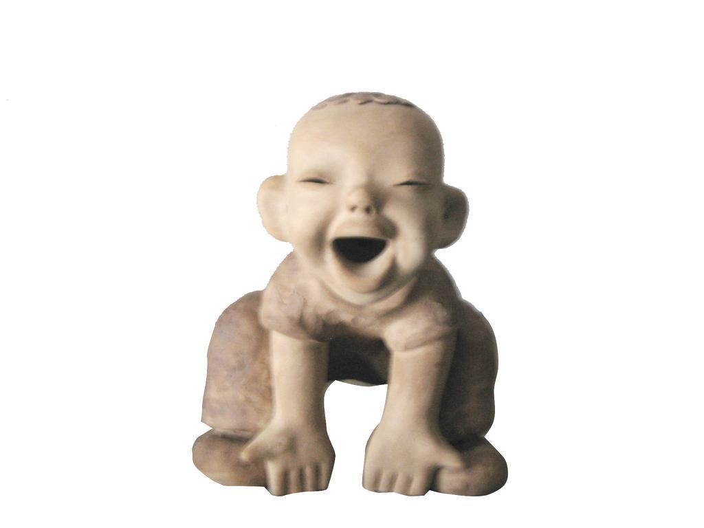 粘土陶瓷雕塑特色人物造型節日禮品 1