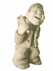 粘土陶瓷雕塑特色人物造型節日禮品