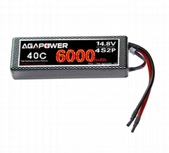 Sell 14.8v lipo rc battery for model car