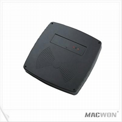 Middle distance RFID card reader for access control system
