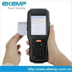 3G handheld RFID Reader PDA with fingerprint