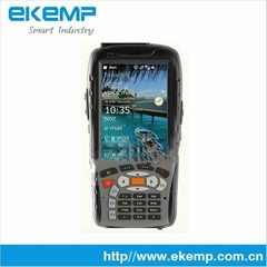 Handheld Mobile Computer with RFID and Barcode Reader