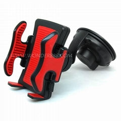 famous brand holder in car for mobile phone psp gps pda