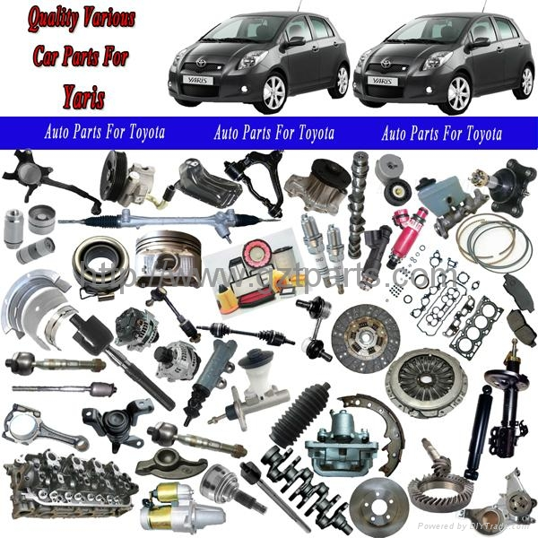 Toyota Truck Aftermarket Parts: Auto Parts For Toyota Yaris (China Trading Company)
