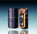 Laser beam security system detector