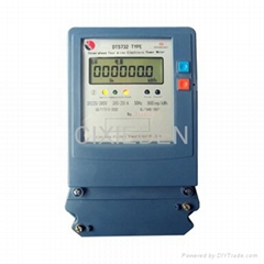 Three Phase Four Wires Electronic Active Energy Meter