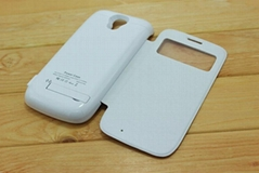The Best External Backup Battery Case With Flip Cover for Samsung Galaxy S4