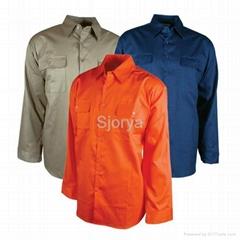 Long Sleeve Drill Shirt