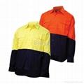 Summer Shirt Workwear--Both Short Sleeve