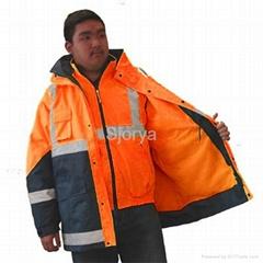 Hivis Breathable Jacket