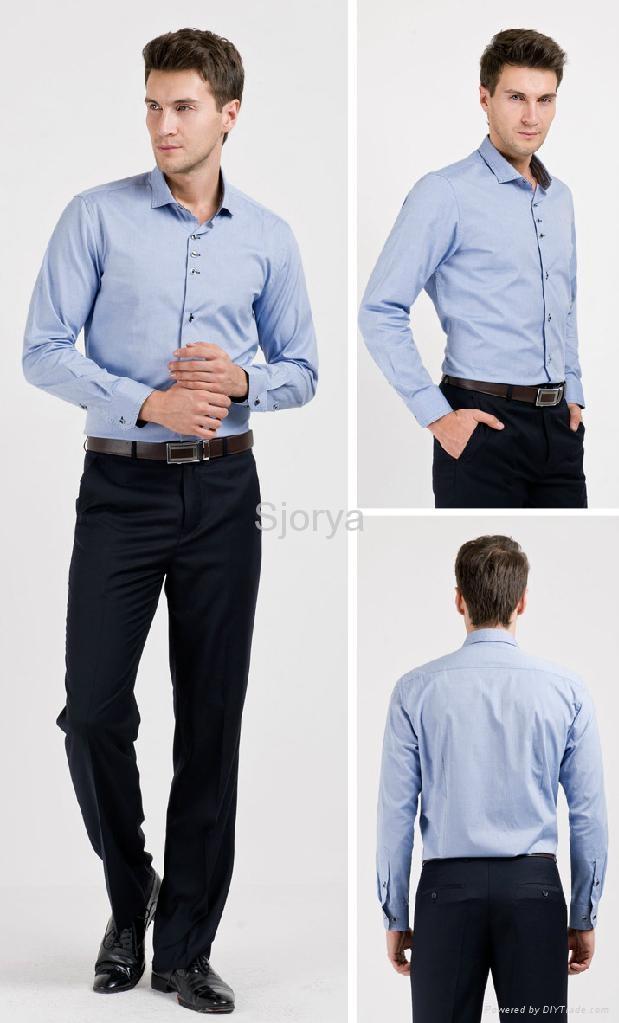Short Sleeve Business Shirt corporate clothing 1