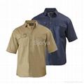 Short Sleeve Drill Shirt