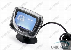 Car LED Parking Reverse Backup Radar System with Backlight Display+6 Sensors