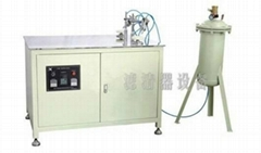 Sealed plate gluing machine