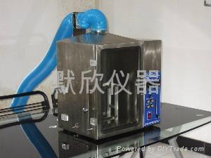 泡沫塑料垂直水平燃燒性能測試儀 1