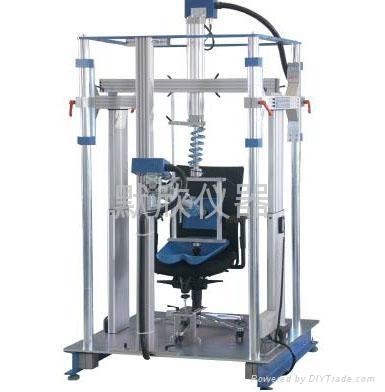 辦公椅座背綜合耐久性測試儀 1