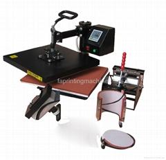 5 in 1 Combo heat press machine FA-CO05
