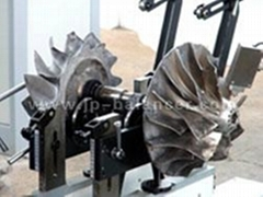 turbocharger dynamic balancing testing equipment machine