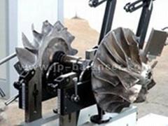 turbocharger dynamic balancing testing