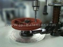 belt pulley balance testing machine