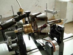 chainsaw cutter balancing testing machine 2