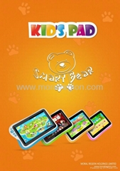 7 inch android kids talet pc with CE ROHS certificated