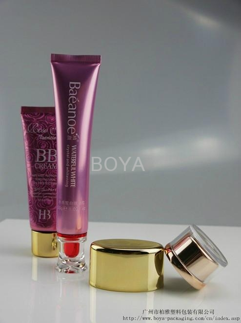 PE cosmetic packaging tube's tube 3