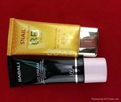 PE cosmetic packaging tube's tube