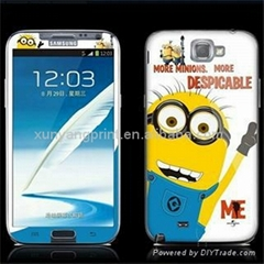 N7100 Despicable Me Shining Screen Protector for Samsung Galaxy Note2