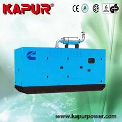 KAPUR Cummins diesel generator set 100kw