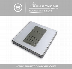 Smart-Bus 4 Button Switch Wall Panel
