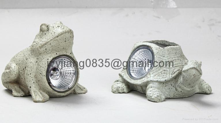 Frog Turtle Snail Solar Light 1