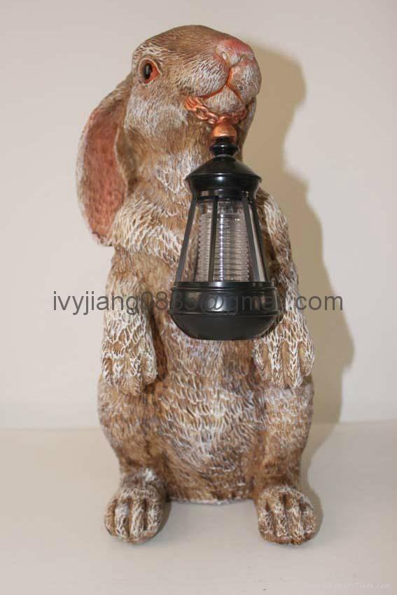 Rabbit Solar Garden Light Lk3623 Ivyjiang0835lights