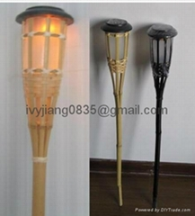 Bamboo Torch Solar Light